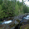 Weeks Falls - Olallie State Park, Washington