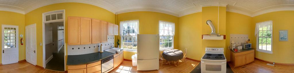 Kitchen, Scarborough House - Fort Columbia State Park, Washington