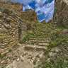 Castle Palafolls Inside HDR / Dentro de castillo Palafolls. Inner panorama.