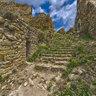 Castle Palafolls Inside HDR / Dentro de castillo Palafolls. Inner panorama.