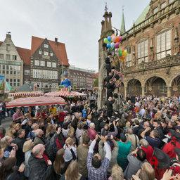 Eröffnung Bremer Freimarkt  2012
