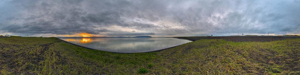 Ölfusa Estuary - Iceland 11 PM
