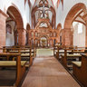 Wechselburg, Collegiate Church with Rood Screen and Cross