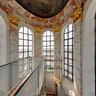 inside the lantern of St. Charles Church in Vienna