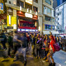 Lan Kwai Fong 2012 New Year (蘭桂坊慶祝2012新年) Central, HK