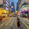Causeway Bay Shopping District---Percival St.(銅鑼灣波斯富街), HK