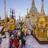 Shwedagon Paya_evening view