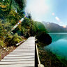 Jiuzhaigou Valley----Long Lake (Changhai)