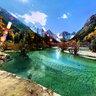 zhuomahu ---plateau lakes in Bipenggou