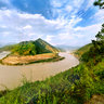 the First Bend of the Changjiang River