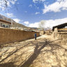 Tibet Nyingchi (Linzhi) Pai town Pastoral scenery of Suo Song village