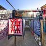 The scenery 2 at Shuhe ancient town of lijiangThe Folk Tie-dyed Art in Dyehouse