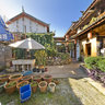 The scenery 3 at Shuhe ancient town of lijiang ——the small Ilonn Hotel garden buildings1