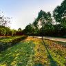 Hubei Wuhan Hankou jiangtan park scenery 5——Olympic column
