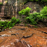 Henan Jiaozuo World Geological Park 2The red stone gorge 360 degree panorama