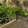 Henan Jiaozuo World Geological Park Yuntai Mountain 8Quanbao Gorge Falls