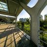 Hubei Wuhan Hankou jiangtan park scenery 7 ——Solar Pavilion