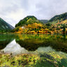 Sichuan UNESCO World Heritage Jiuzhai Valley National Park——Five flowers lake