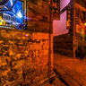 yunnan Old Town of Lijiang 5 The Inn in depths of the alley at night