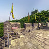 liaoning Dandong HushanThe eastern starting point of the Great Wall of the Ming Dynasty
