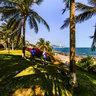 Nanshan Cultural Tourism Zone Sanya Hainan——Coconut forest in Nanshan Temple