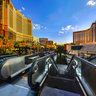 the Streetscape 3 of Las Vegas Strip Las Vegas Nevada USA  ——Footbridge