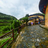 Tianluokeng earth building group  UNESCO Nanjing Fujian China——Tian Luo Keng Village 1