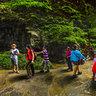 Natural Three Bridges Wulong Chongqing China——KarstUNESCOWorld Heritage