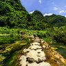 Libo Zhangjiang Scenic Spot Guizhou China——Xiaoqikong (Small Seven-hole Bridge) Scenic Zone