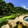 Libo Zhangjiang Scenic Spot Guizhou China——Xiaoqikong Nune Ji Hai Wetland