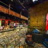 Hegui tulou buildingXiaban Village Nanjing Fujian China——The Nanjing highest square Tulou