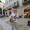 Surf Guitarist - Mamilla Street, Jerusalem