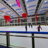 Indoor ice rink at Zhonghua City project