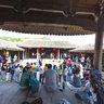 瑞安高楼下泽村曹氏宗祠的戏台(CS集合点)CS meeting point in Chao's Ancestral Hall