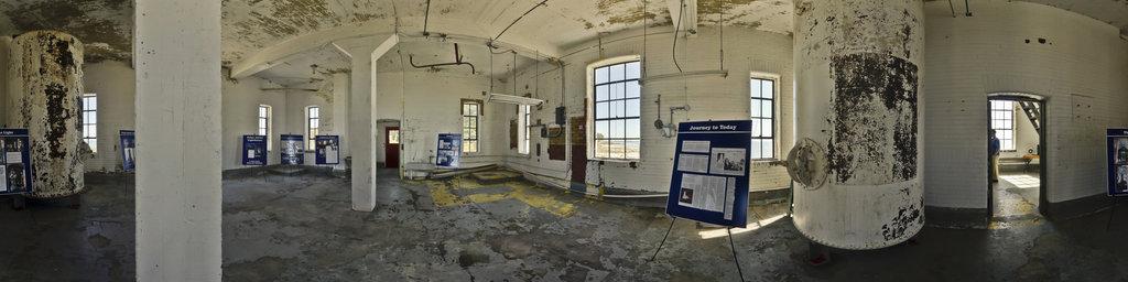 Point Abino Lighthouse Interior
