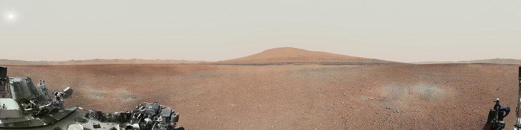 Mars Panorama - Curiosity rover
