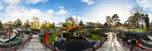 Travel to paris now panoramic photography and map for Bois de boulogne jardin d acclimatation