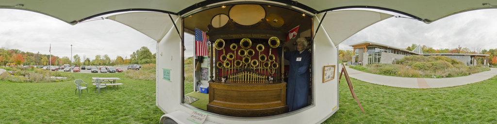 Trumpet Organ Balls Falls