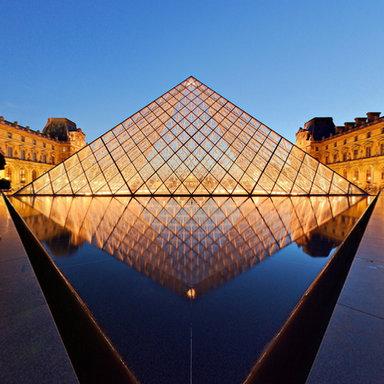 Louvre Pyramid Virtual Tour