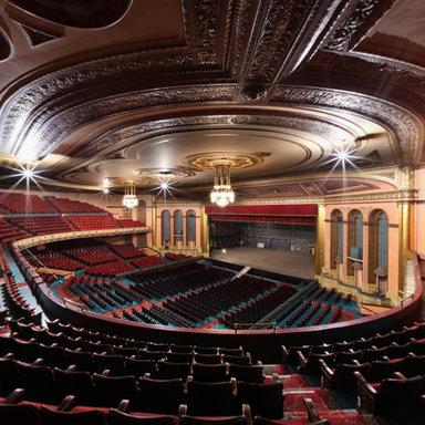Masonic Temple Theater Balcony View