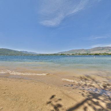 Pineview Reservoir, Ogden Valley, near Huntsville, Utah
