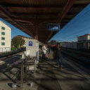 Waiting for the S7 Train in Stäfa