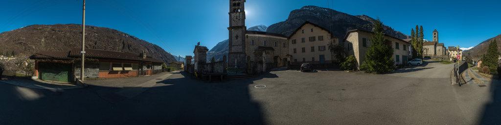 Churches San Michele and San Nicola in Giornico, Ticino