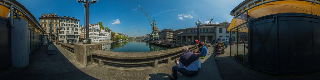 Dockside Crane in Zurich 2