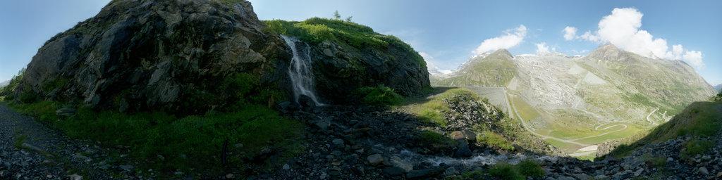 Mattmark Reservoir in the Saas Valley 3