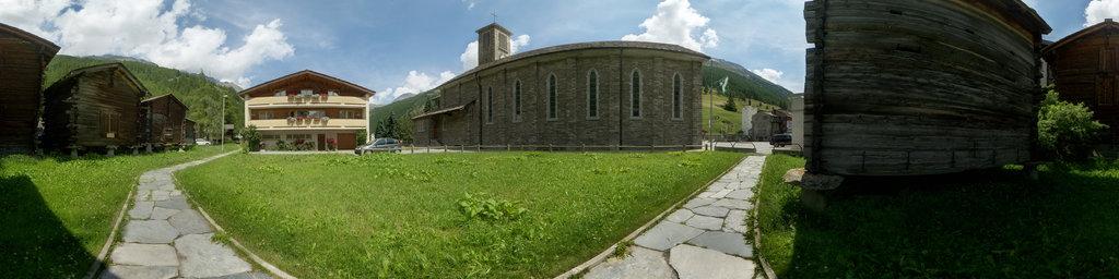 Catholic Church St. Bartholomäus of Saas Grund