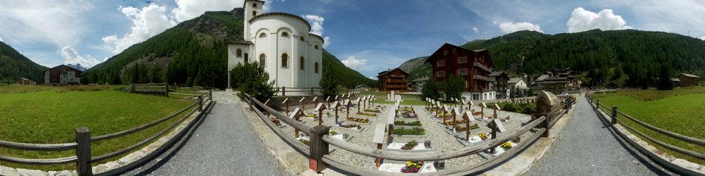 Baroque Round Church of Saas-Balen 1