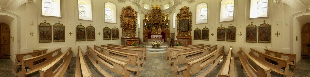 Baroque Round Church of Saas-Balen 2