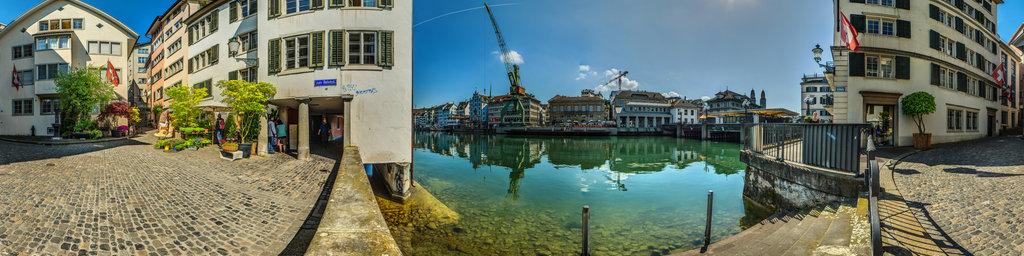 Dockside Crane in Zurich 3