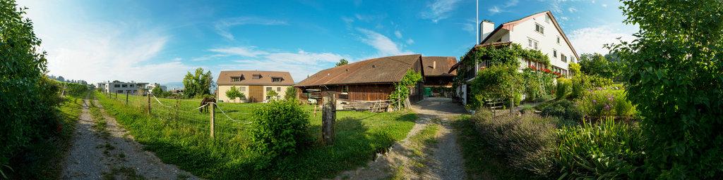 This is a Farm House in Küsnacht